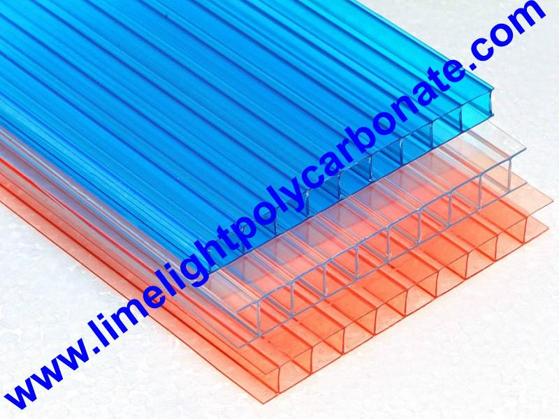 colorful polycarbonate sheet