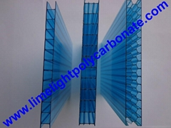 Polycarbonate sheet twinwall polycarbonate glazing UV protected polycarbonate