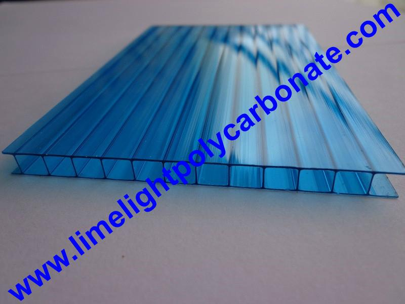 Polycarbonate sheet twinwall polycarbonate glazing UV protected polycarbonate 6