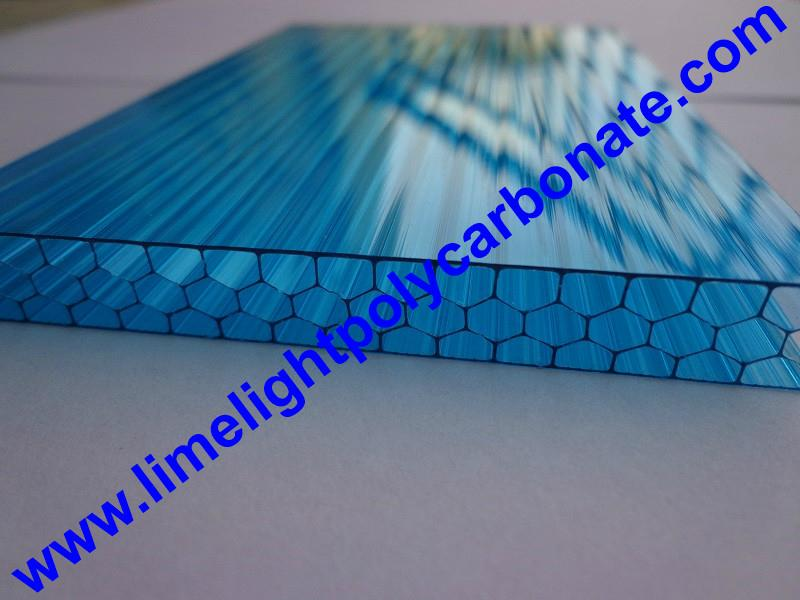 polycarbonate glazing panel