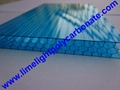 polycarbonate glazing panel