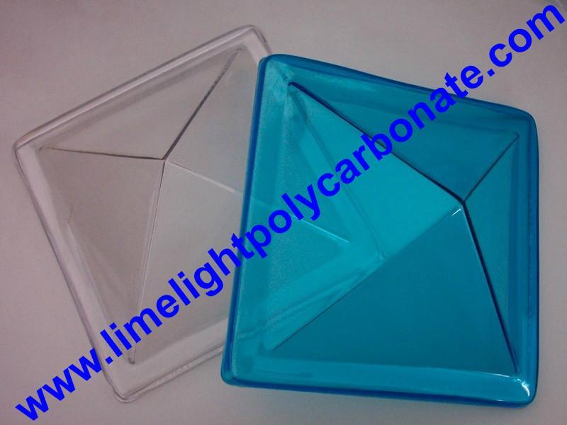 Polycarbonate skylight, Pyramid shape skylight, Polycarbonate Skylighting 1