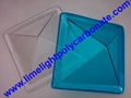 Polycarbonate skylight, Pyramid shape