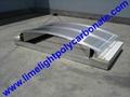 polycarbonate connector polycarbonate cap & base profile pc sheet accessories 6