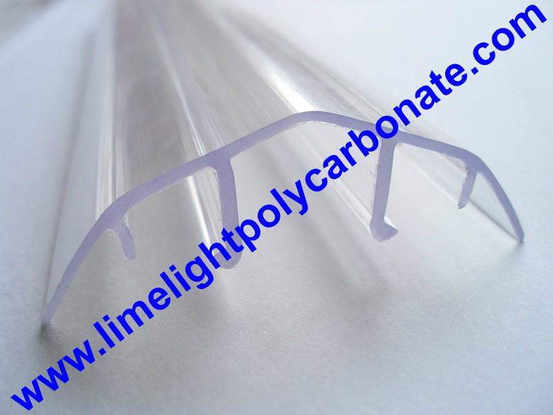 polycarbonate connector polycarbonate cap & base profile pc sheet accessories 15