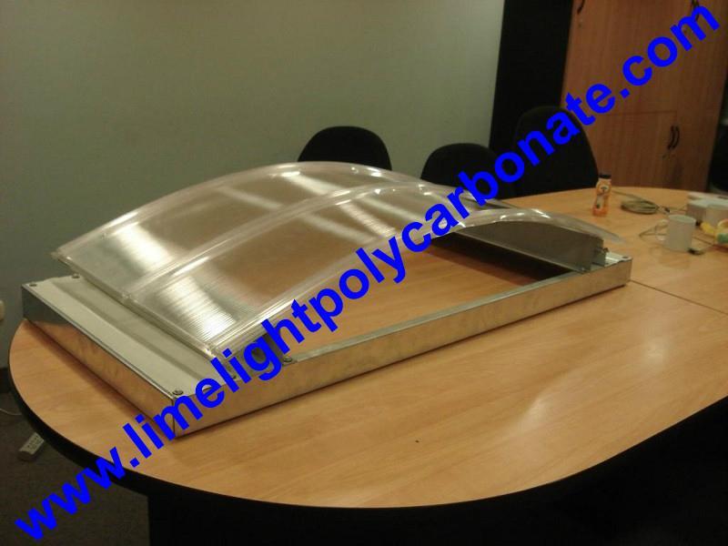 polycarbonate connector polycarbonate cap & base profile pc sheet accessories 11