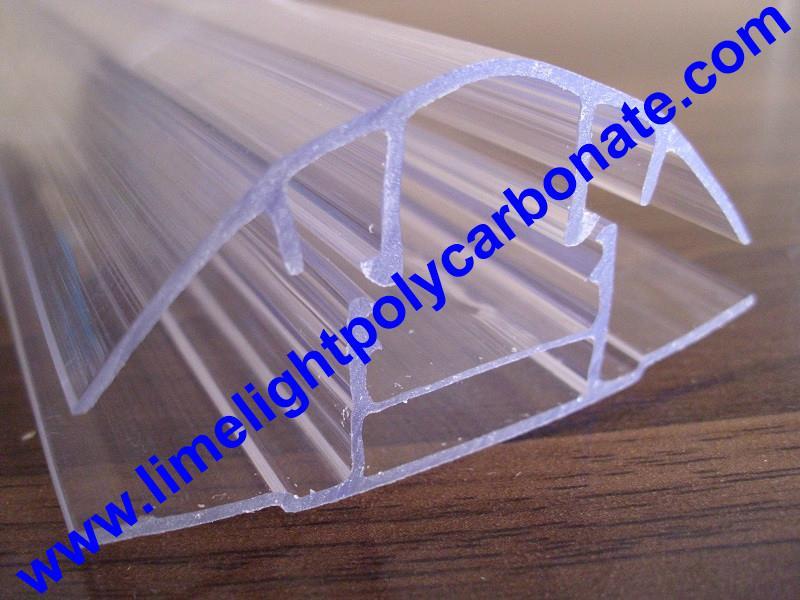polycarbonate connector polycarbonate cap & base profile pc sheet accessories 17