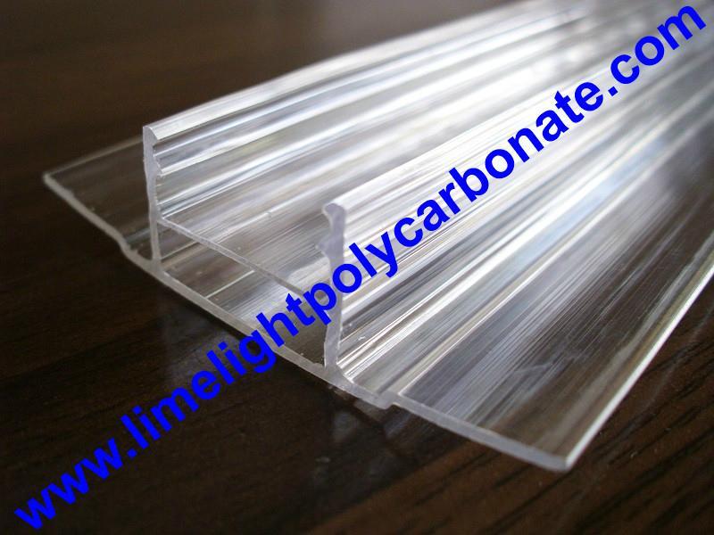 polycarbonate connector polycarbonate cap & base profile pc sheet accessories 18