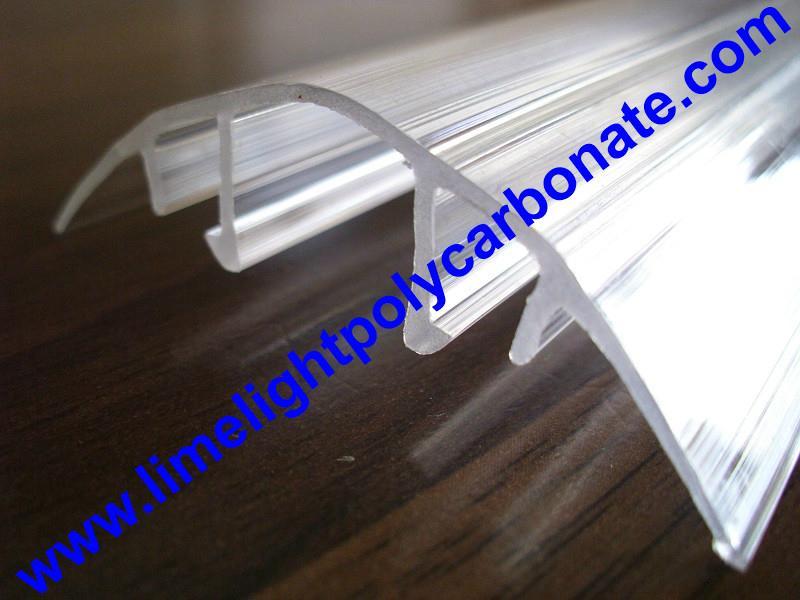 polycarbonate connector polycarbonate cap & base profile pc sheet accessories 20
