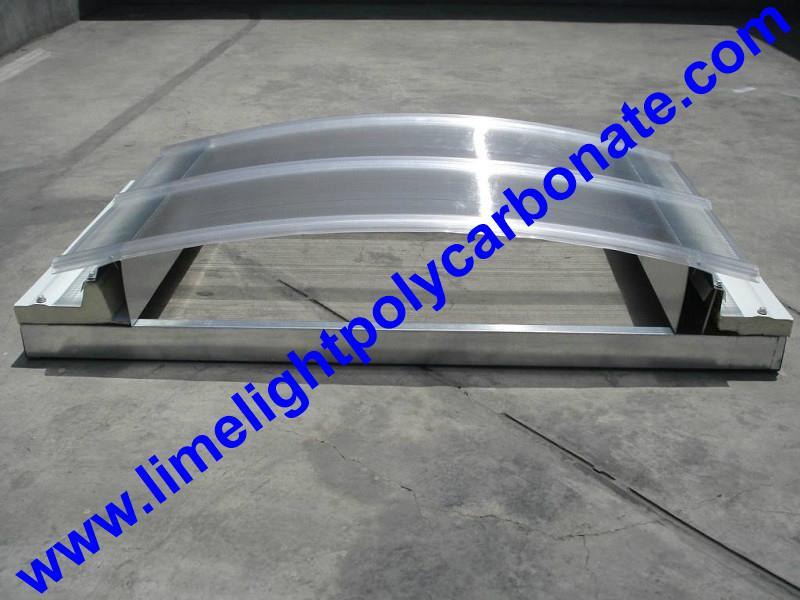 polycarbonate connector polycarbonate cap & base profile pc sheet accessories 8