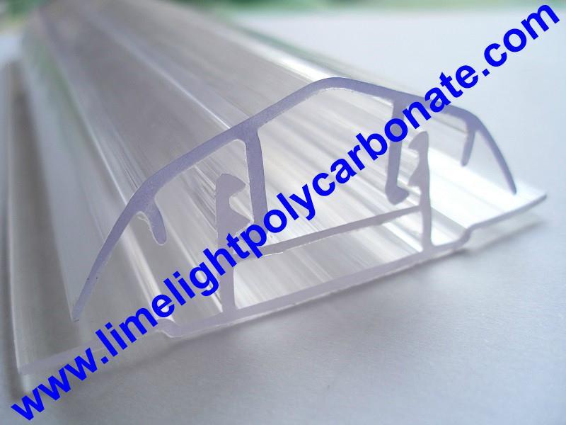 polycarbonate connector polycarbonate cap & base profile pc sheet accessories 14