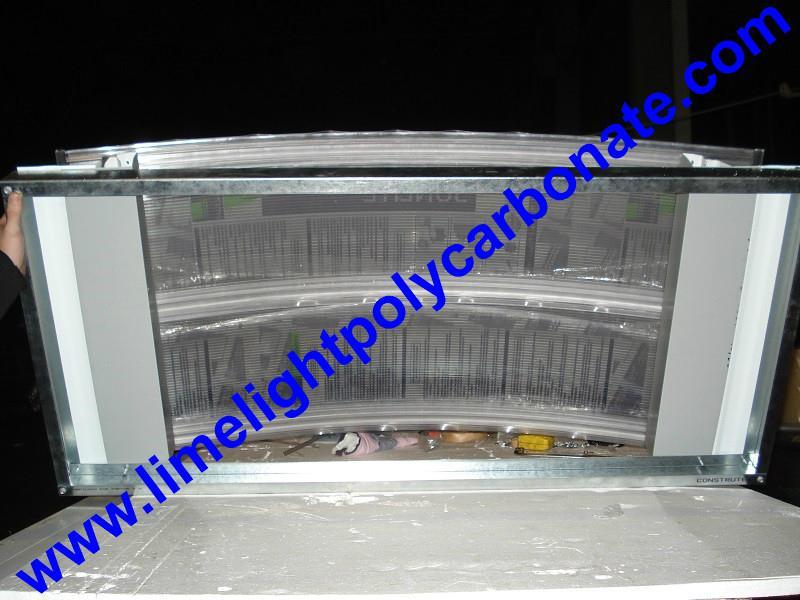 polycarbonate connector polycarbonate cap & base profile pc sheet accessories 9