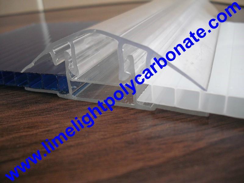 polycarbonate connector polycarbonate cap & base profile pc sheet accessories 5