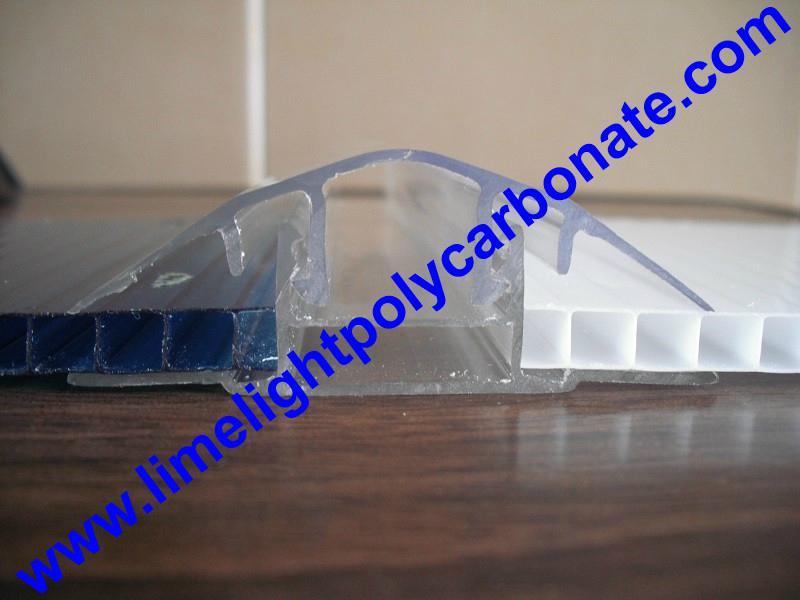 polycarbonate connector polycarbonate cap & base profile pc sheet accessories 4