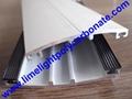 aluminium glazing bars pc sheet profile