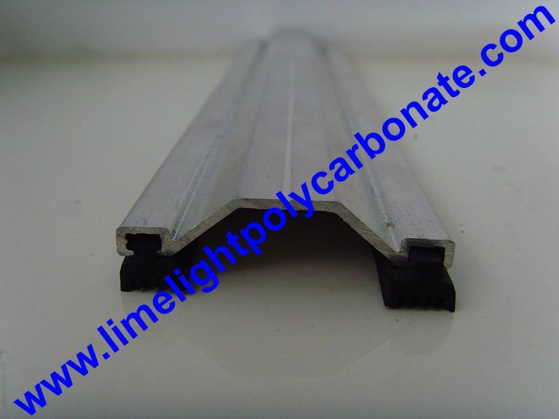 5bf49bb53b2 aluminium profile aluminium capping bar polycarbonate sheet profiles  accessories