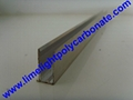 Quality aluminium capping bar with EPDM gasket for multiwall polycarbonate sheet 5