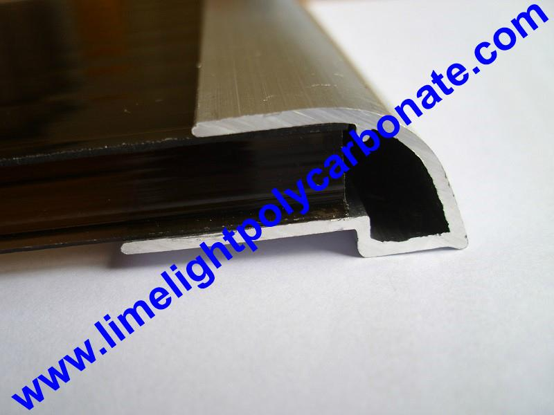 polycarbonate sheet U profile