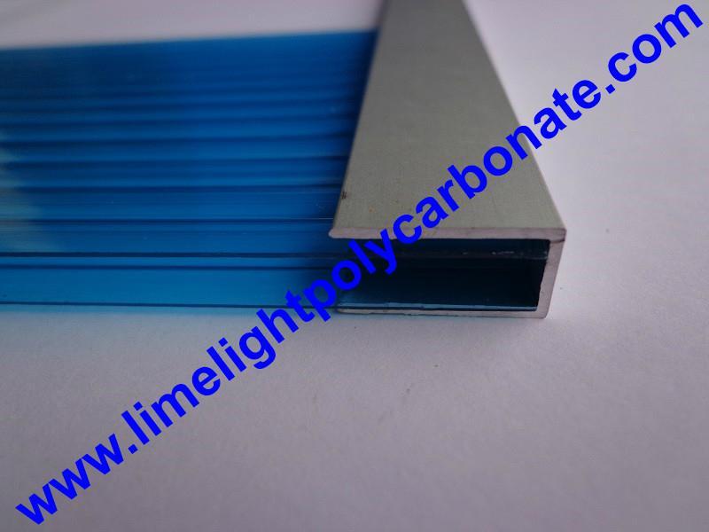 4021987f57b ... aluminium profile aluminium U profile polycarbonate sheet profiles    accessories ...