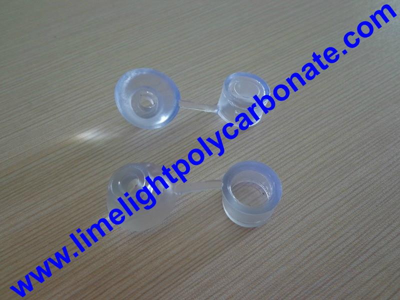 PVC waterproof clear screw cap for polycarbonate sheets and PVC roofing sheets 1