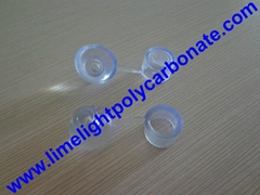 PVC waterproof clear screw cap for polycarbonate sheets and PVC roofing sheets