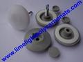 polycarbonate glazing screw button