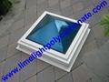 Polycarbonate skylight, Pyramid shape