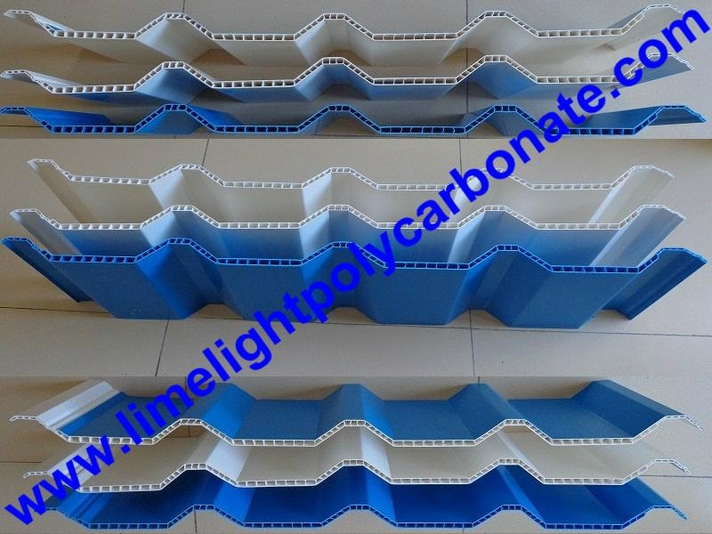 PVC hollow sheets