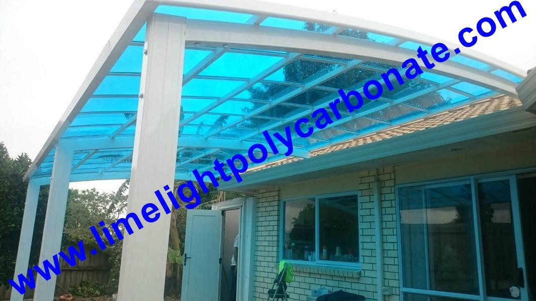 Polycarbonate patio