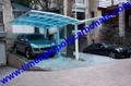 M shape carport aluminium carport polycarbonate carport garage carport aluminum 4