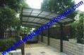 aluminium frame carport garden carport aluminium carport polycarbonate carport 11