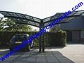 aluminium frame carport garden carport aluminium carport polycarbonate carport 20