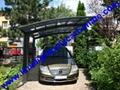 polycarbonate carport aluminium carport mini-carport assemble carport shelter 11