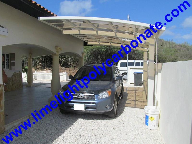polycarbonate carport aluminium carport mini-carport assemble carport shelter 14