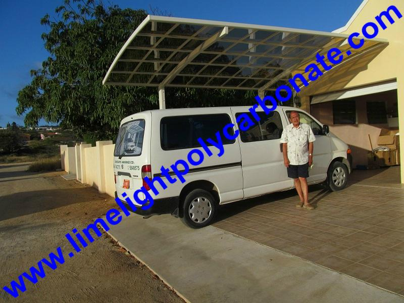 polycarbonate carport aluminium carport mini-carport assemble carport shelter 16