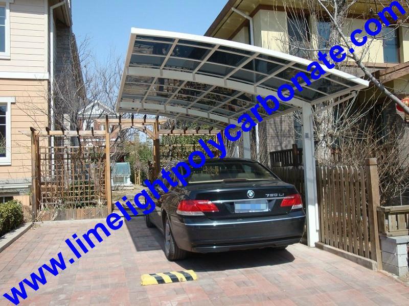 polycarbonate carport aluminium carport mini-carport assemble carport shelter 18