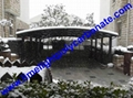 carport awning with powder coated aluminium alloy frame and polycarbonate sheet 10