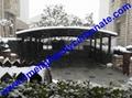 sunshade carport yacht sun protection carport aluminium frame carport boat shed 10
