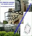 DIY kit door awning