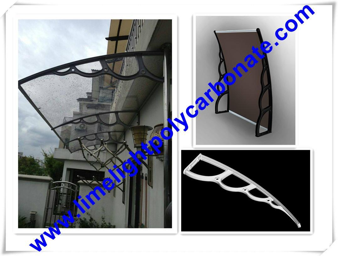 1500mm depth plastic bracket awning