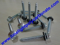 Self drilling wood screw