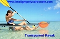 clear kayak transparent kayak polycarbonate kayak PC kayak crystal kayak clear canoe transparent canoe polycarbonate canoe PC canoe cystal canoe ocean kayak ocean canoe see bottom kayak see through kayak see bottom canoe see through canoe full transparent kayak glass kayak unbreakable kayak