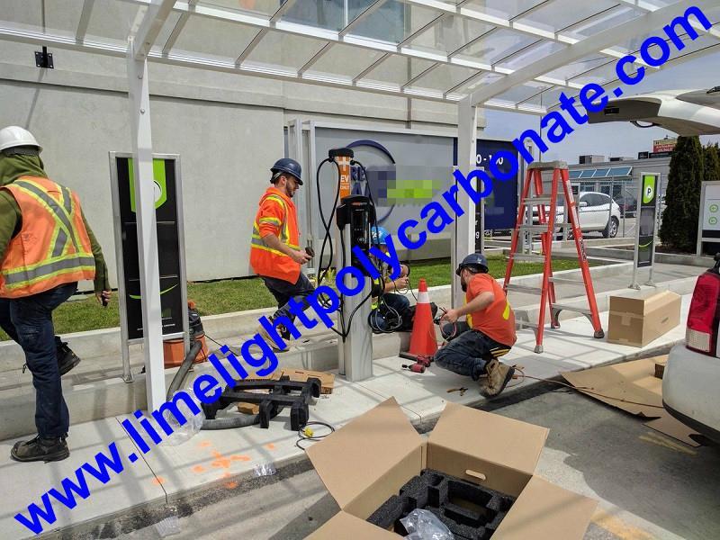 Aluminum carport polycarbonate carport metal carport garden carport carport shed 3