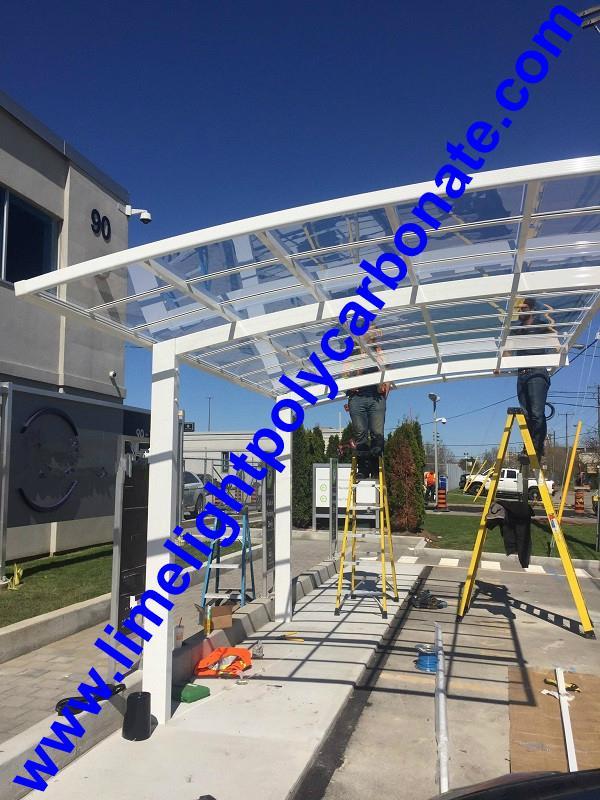 Aluminum carport polycarbonate carport metal carport garden carport carport shed 4