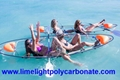 Clear kayak, clear canoe, transparent kayak, transparent canoe, crystal kayak, crystal canoe, polycarbonate kayak, polycarbonate canoe, PC kayak, PC canoe, clear bottom kayak, clear bottom canoe, see through kayak, see through canoe, see bottom kayak, see bottom canoe, sea-thru kayak, kayak paddling, fishing kayak, tour kayak, water sport kayak, resort kayak, adventure kayak, adventure canoe, ocean kayak, ocean canoe, unbreakable kayak, unbreakable canoe, clear blue Hawaii kayak, Molokini kayak, full transparent kayak, 100% clear kayak canoe