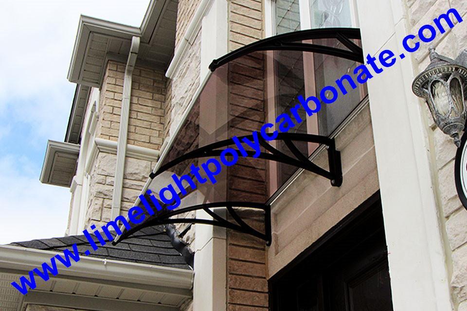 door awning DIY awning door canopy window awning polycarbonate awning rain shed