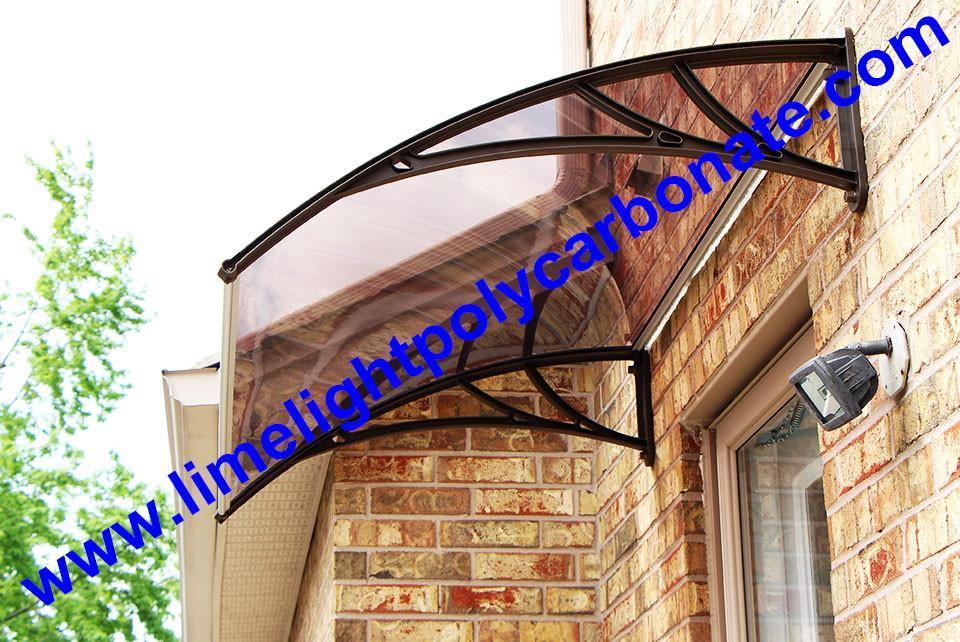 door awning kits DIY polycarbonate awning door canopy window canopy DIY canopy 1