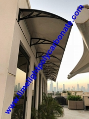 polycarbonate DIY awning window awning door canopy pc awning roof canopy shelter