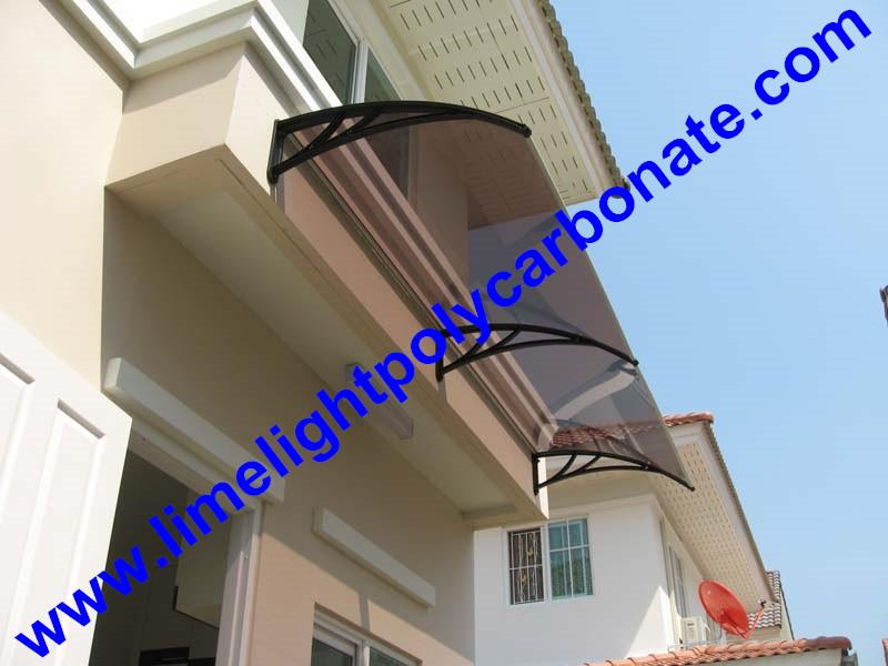 polycarbonate awning DIY awning door canopy window awning shelter rain shelter 1