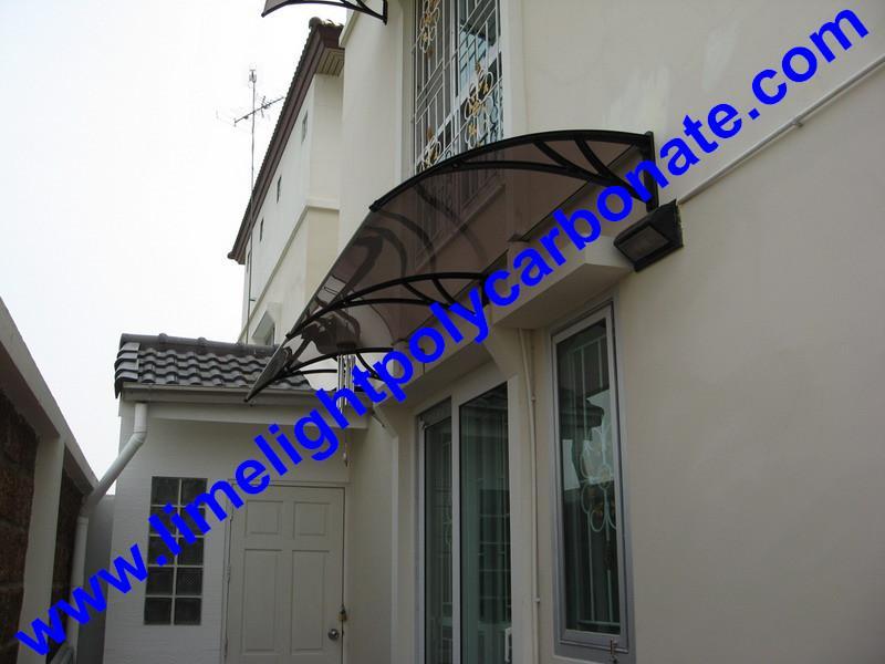 polycarbonate awning DIY awning door canopy window awning shelter rain shelter 2